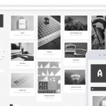 Black and White WordPress Theme for Business Blogging