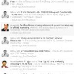 Hey Marketers on Twitter: It's NOT a Link List
