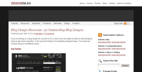DesignMag screen shot