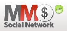 MMO Social Network Logo