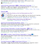 Google +1: The New SearchWiki?