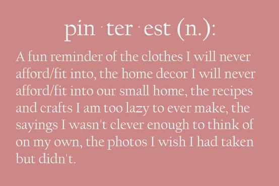 Pinterest definition