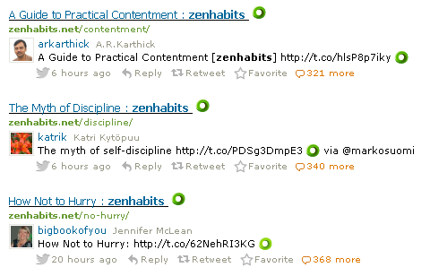 zenhabits-tweets