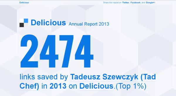 Tad Chef's Delicious Report