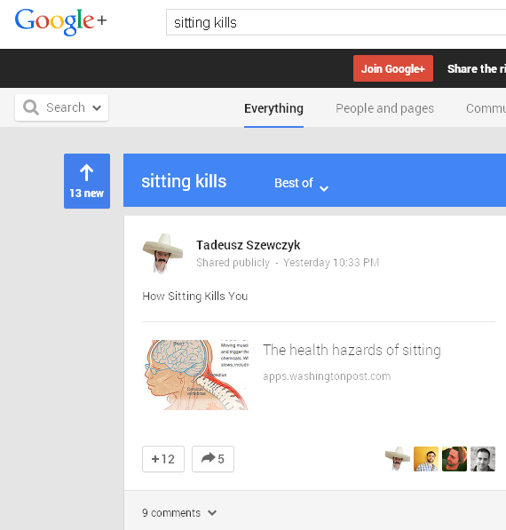 google-plus-sitting-kills