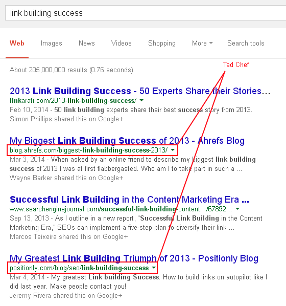 link-building-success-logged-in-serps