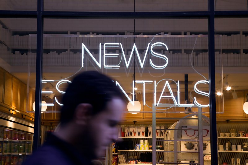 """News Essentials"" store front"