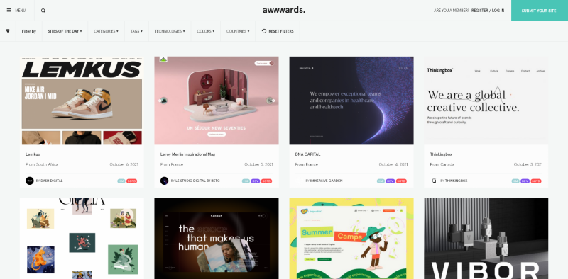 Sites of the Day